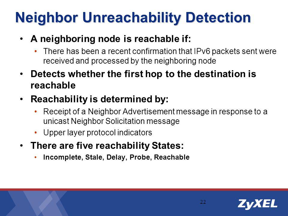 Neighbor Unreachability Detection