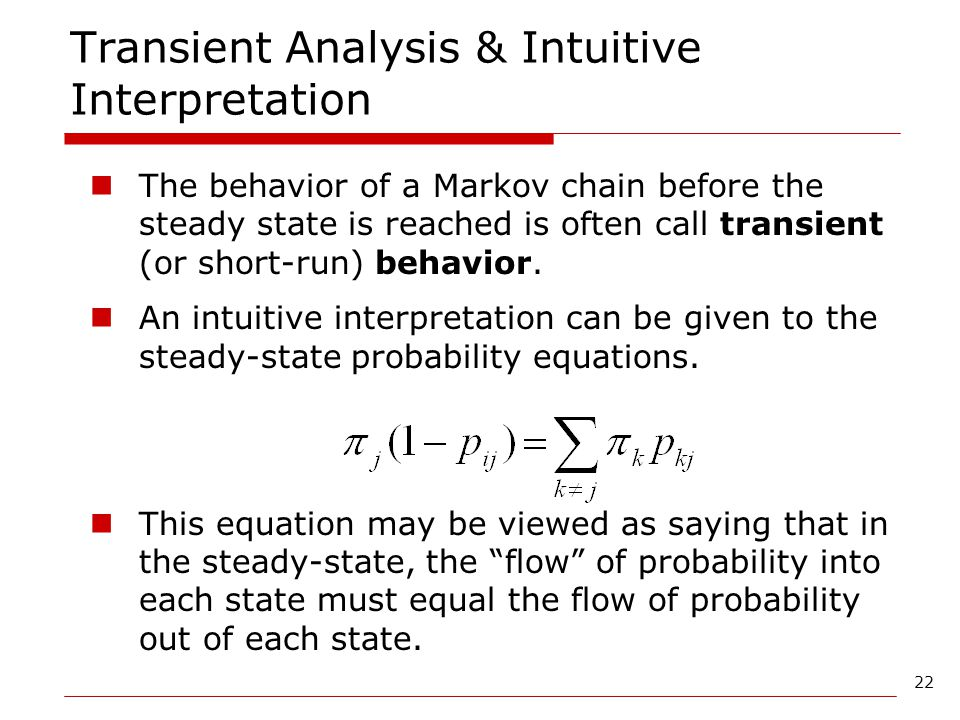 Transient Analysis & Intuitive Interpretation
