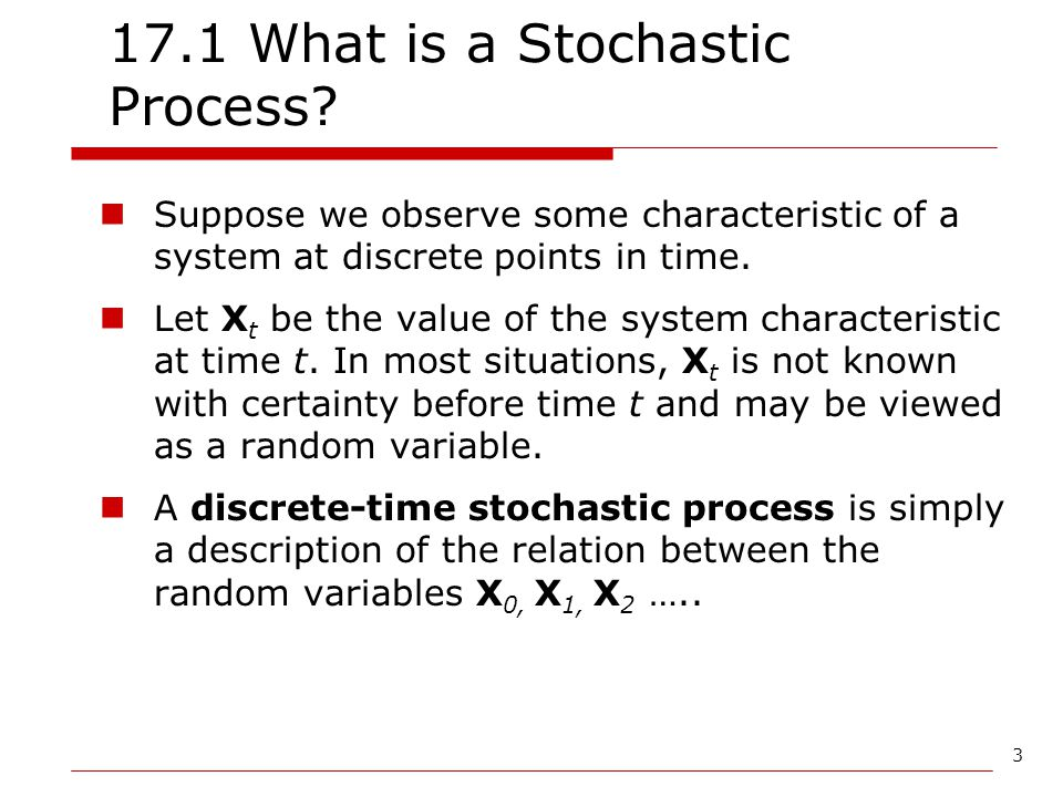 17.1 What is a Stochastic Process