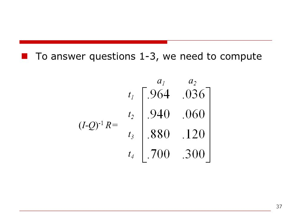 To answer questions 1-3, we need to compute