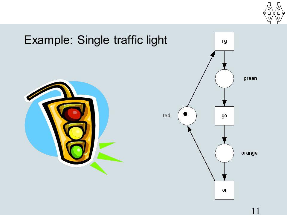 Example: Single traffic light