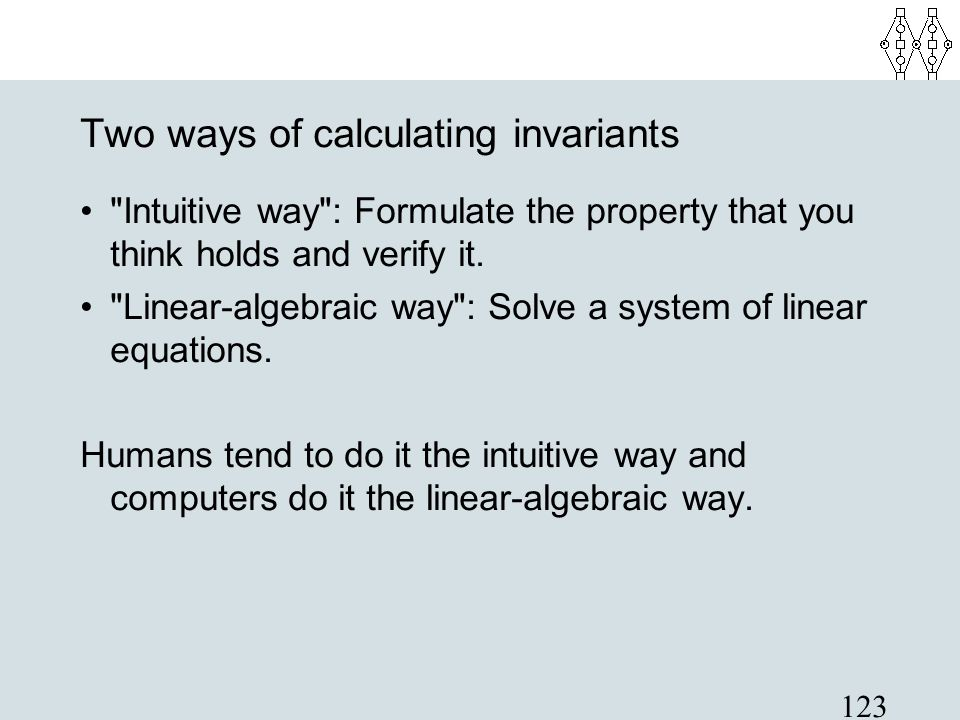 Two ways of calculating invariants