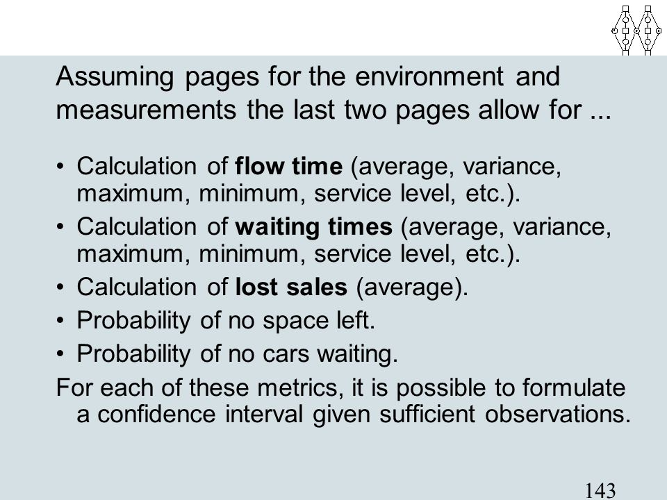 Assuming pages for the environment and measurements the last two pages allow for ...