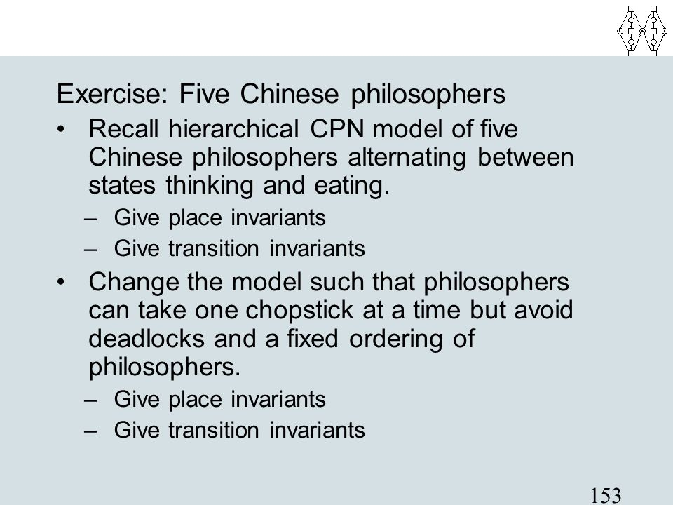 Exercise: Five Chinese philosophers