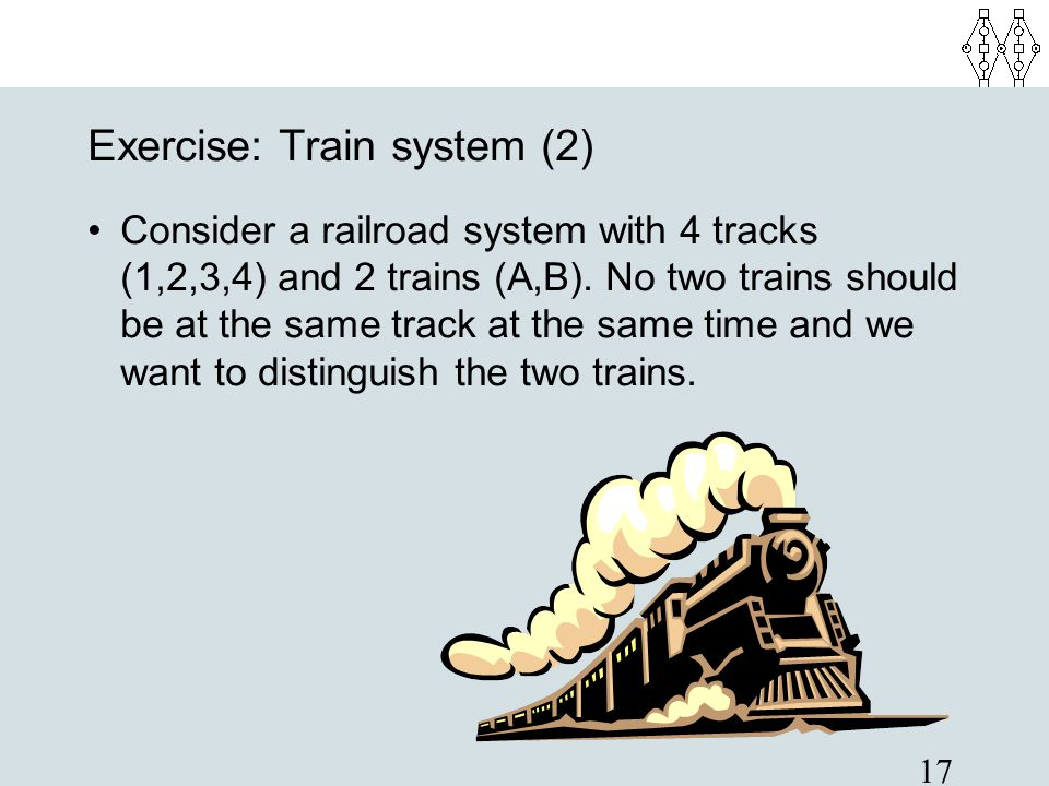 Exercise: Train system (2)‏