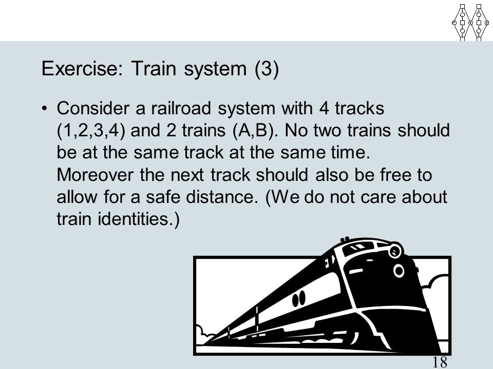 Exercise: Train system (3)‏
