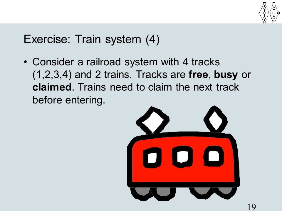 Exercise: Train system (4)‏