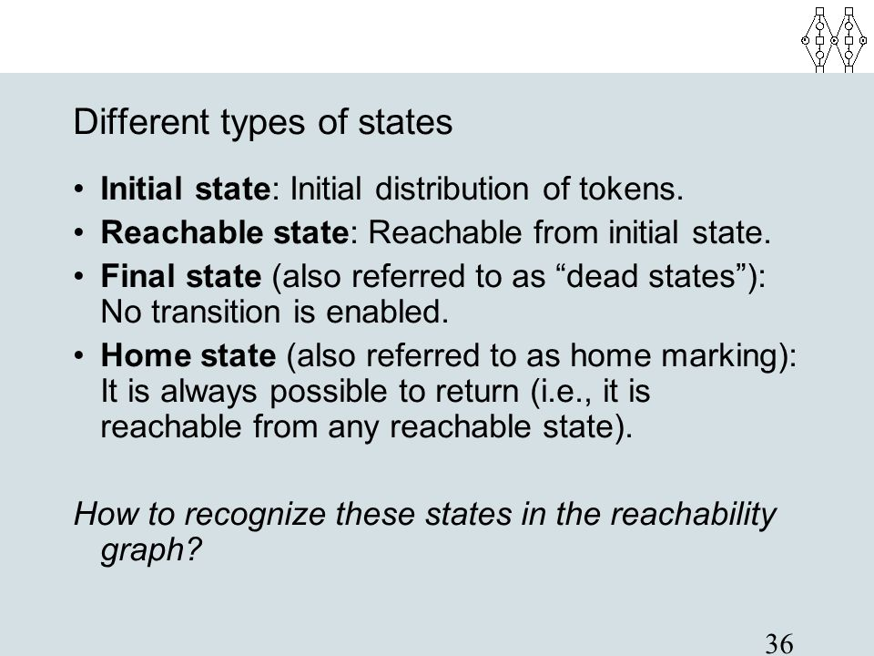 Different types of states