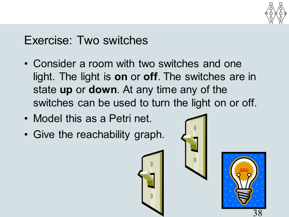 Exercise: Two switches