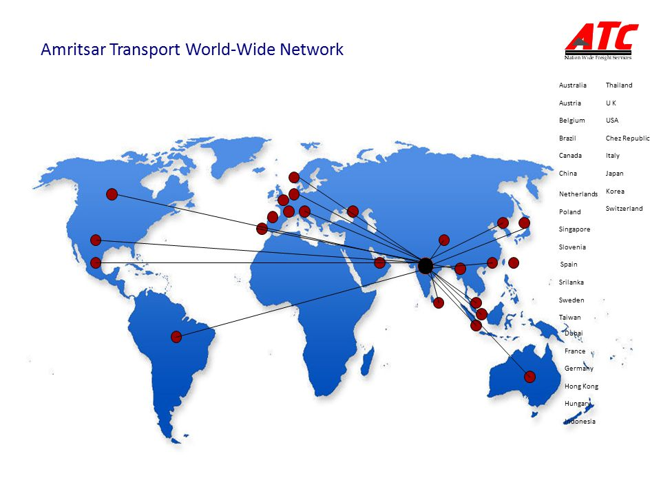 Amritsar Transport World-Wide Network