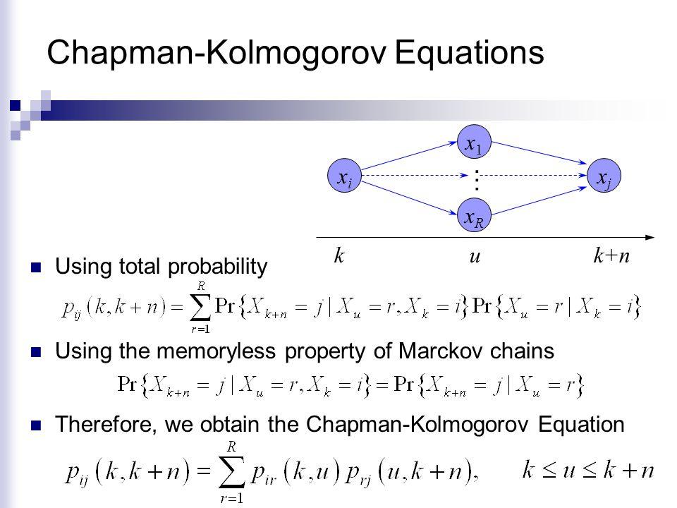 Chapman-Kolmogorov Equations