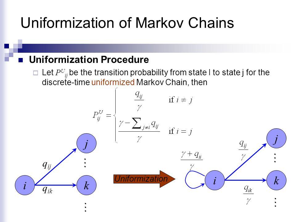 Uniformization of Markov Chains