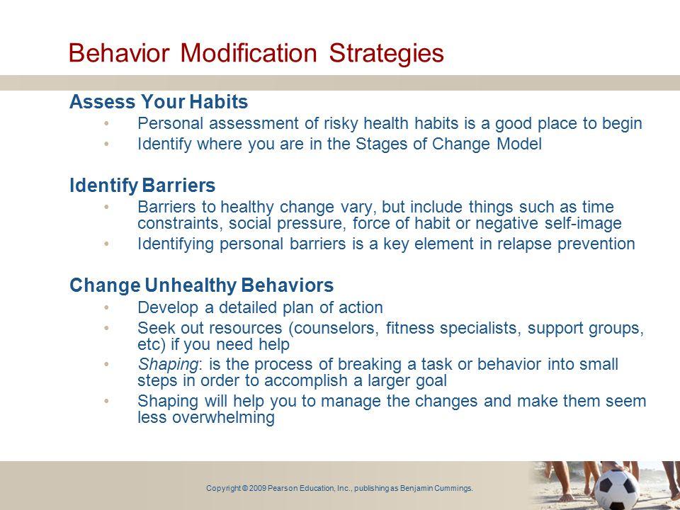 Behavior Modification Strategies