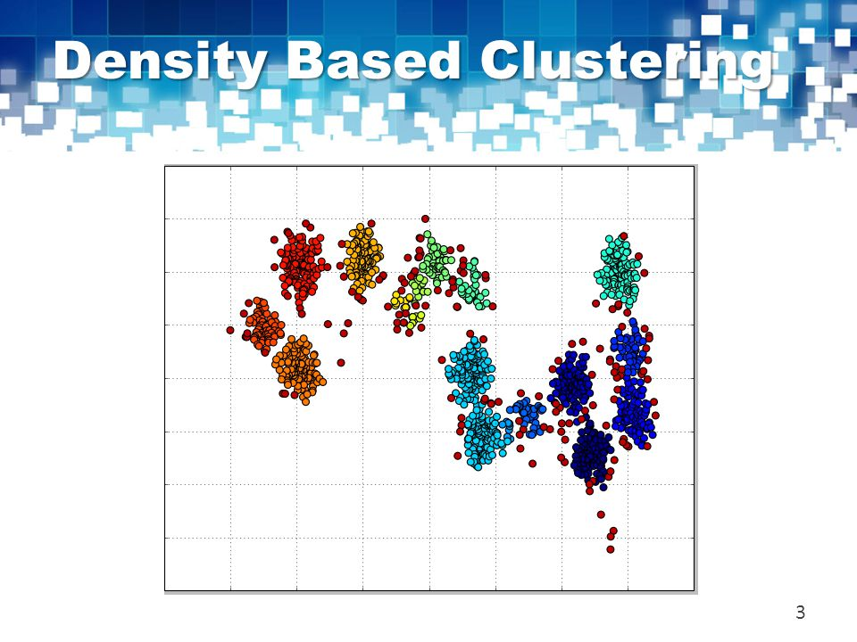 Density Based Clustering