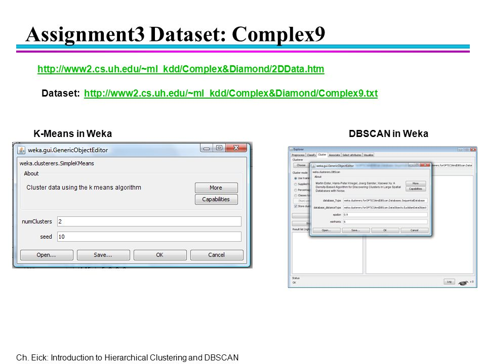Assignment3 Dataset: Complex9