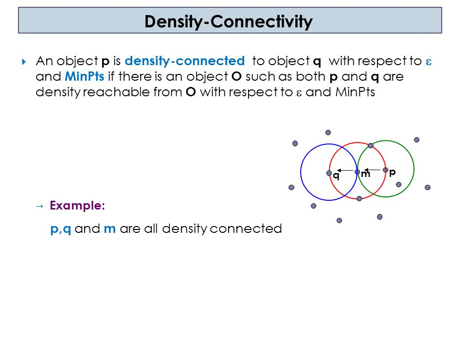 Density-Connectivity