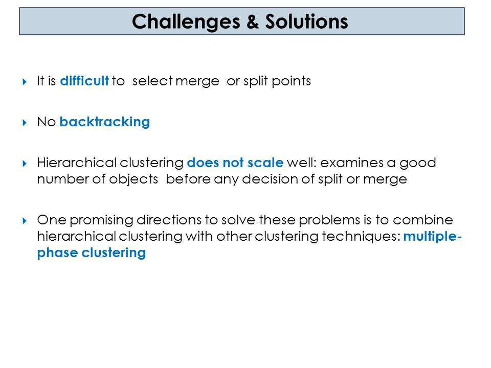 Challenges & Solutions