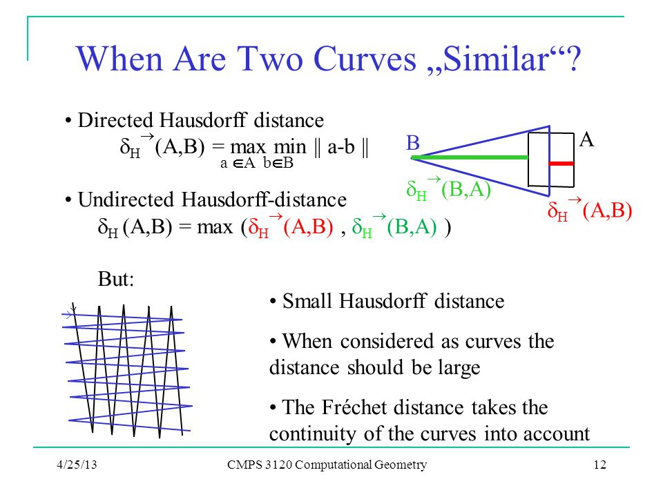 """When Are Two Curves """"Similar"""