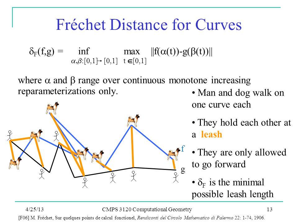 Fréchet Distance for Curves