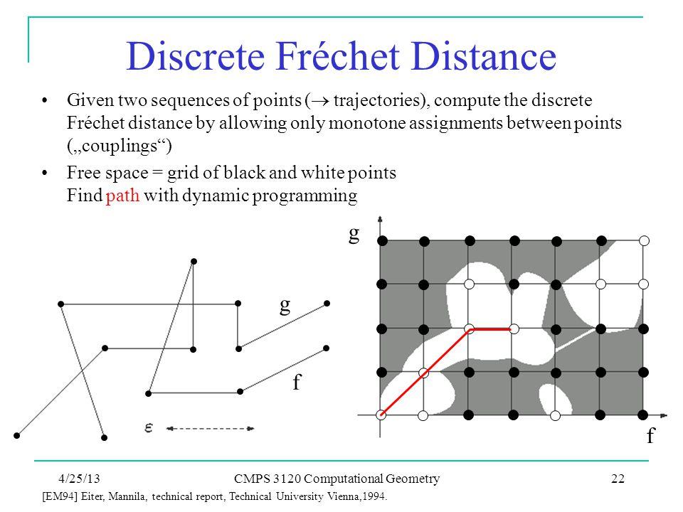 Discrete Fréchet Distance