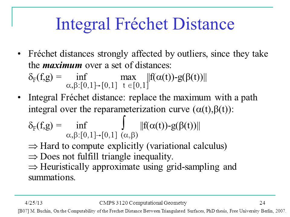 Integral Fréchet Distance