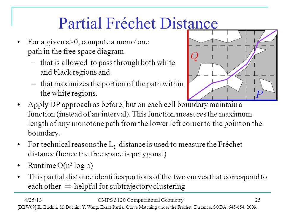Partial Fréchet Distance