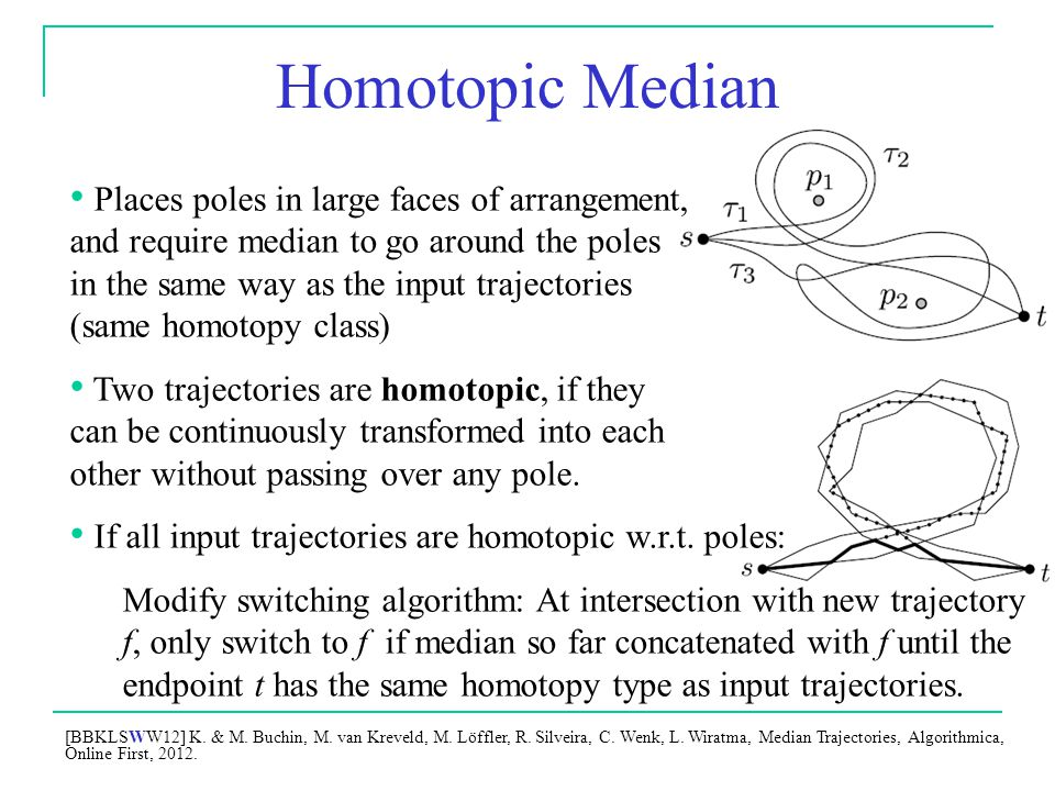 Homotopic Median