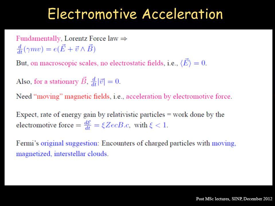 Electromotive Acceleration