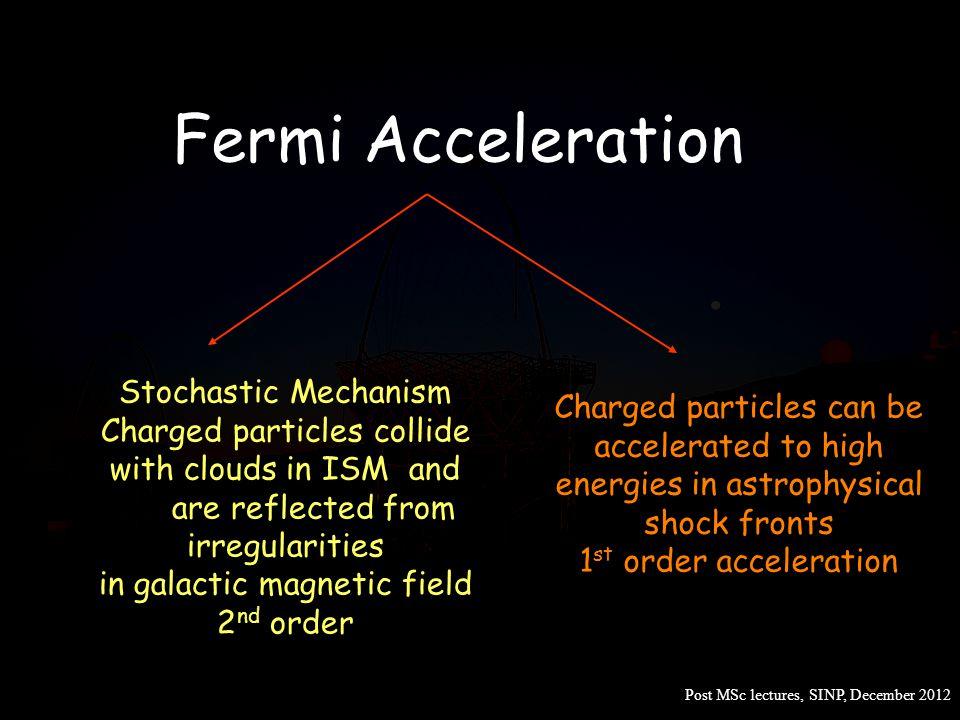 Fermi Acceleration Stochastic Mechanism