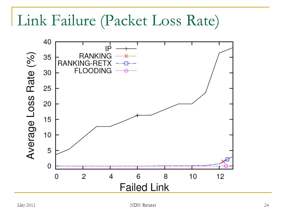 Link Failure (Packet Loss Rate)