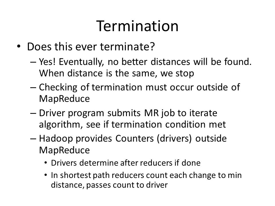 Termination Does this ever terminate