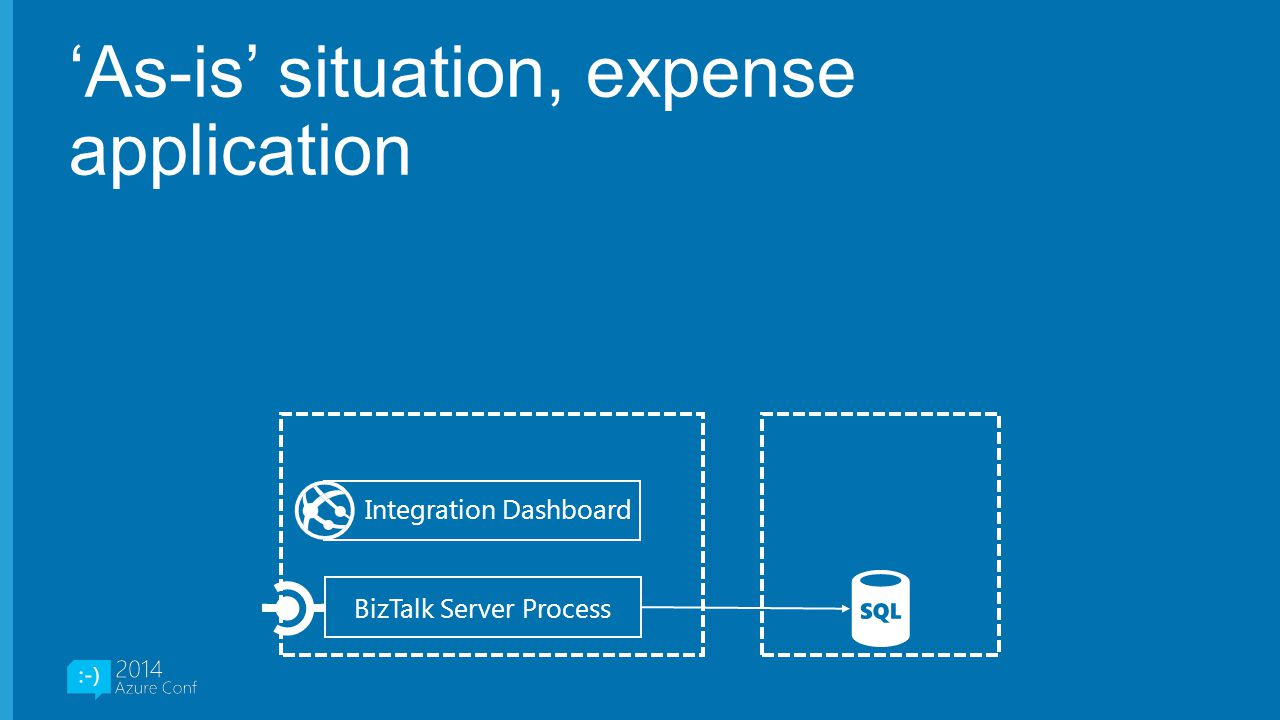 'As-is' situation, expense application