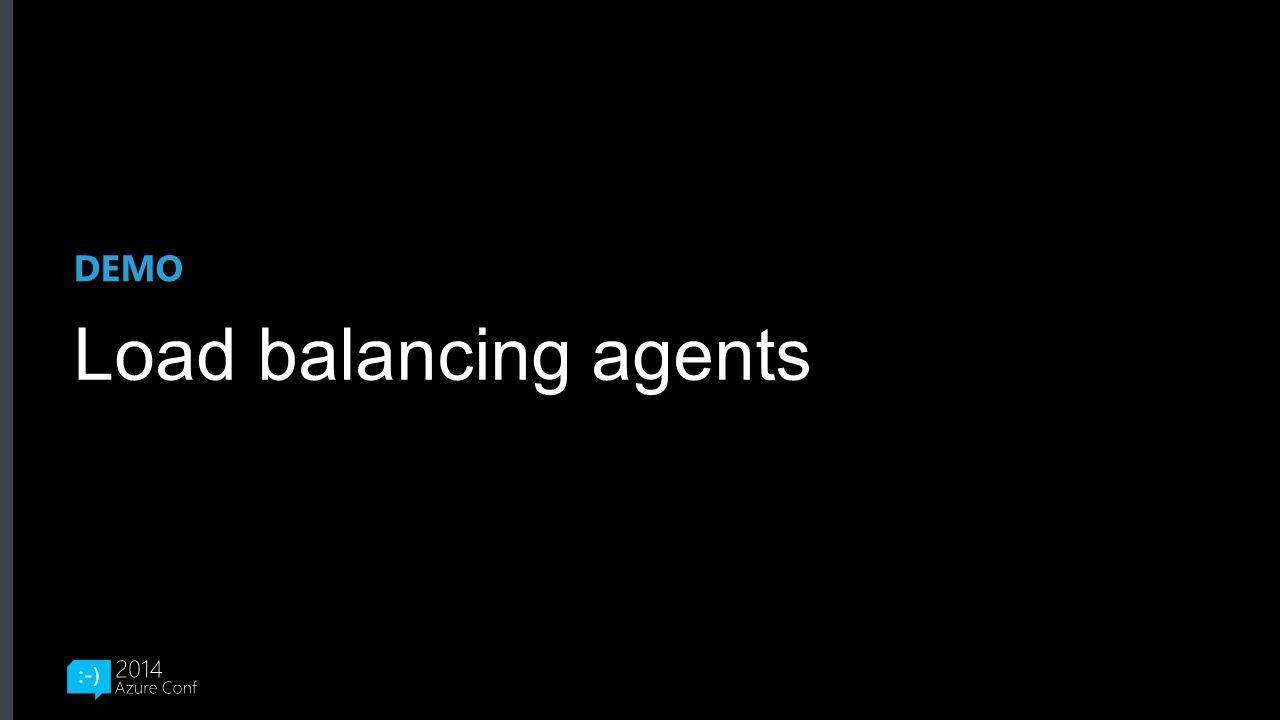 DEMO Load balancing agents
