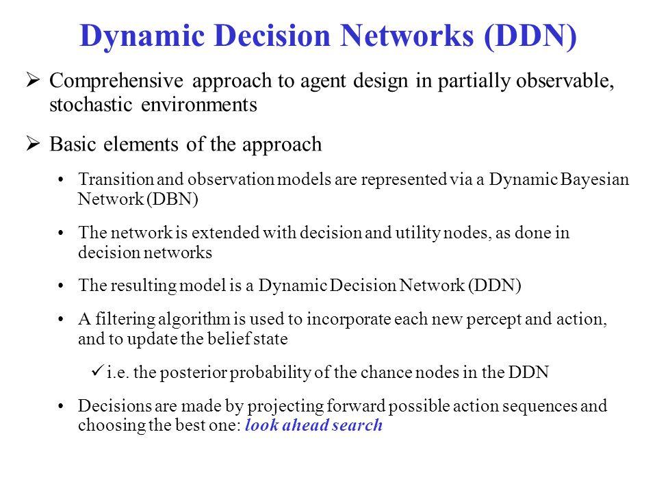 Dynamic Decision Networks (DDN)
