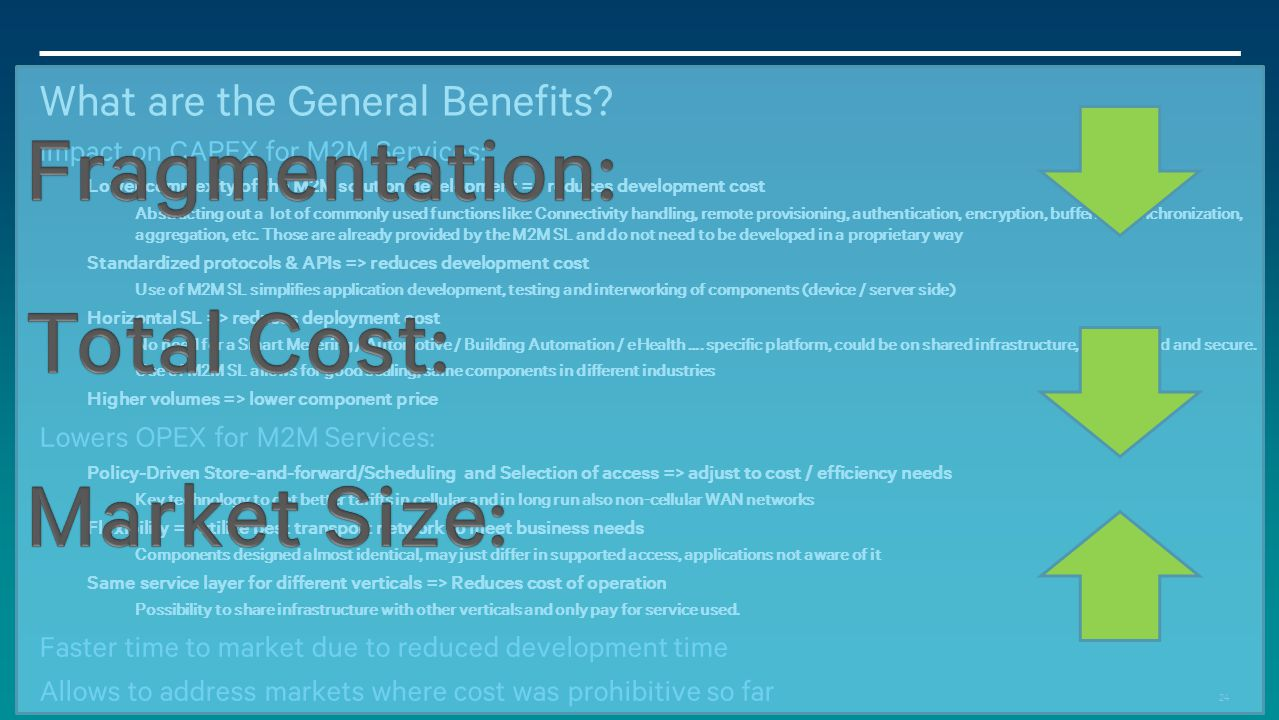 What are the General Benefits
