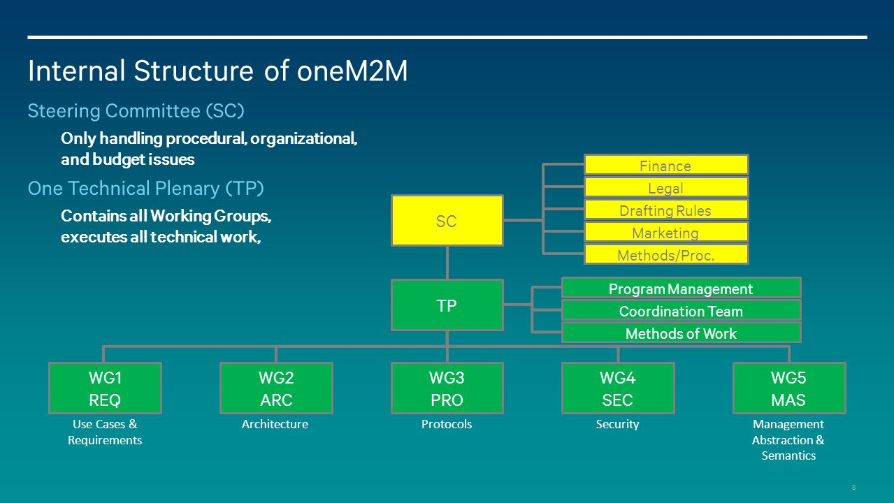 Internal Structure of oneM2M