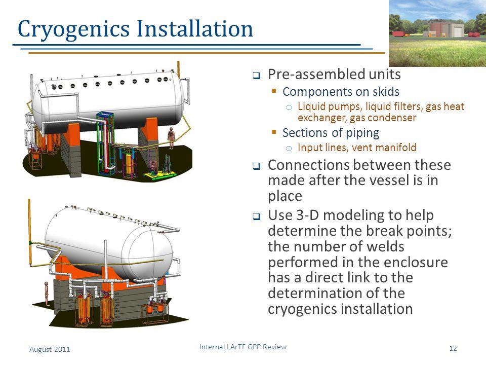 Cryogenics Installation