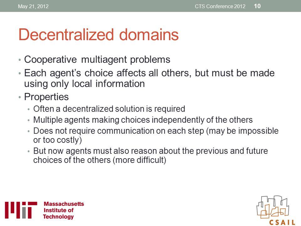 Decentralized domains