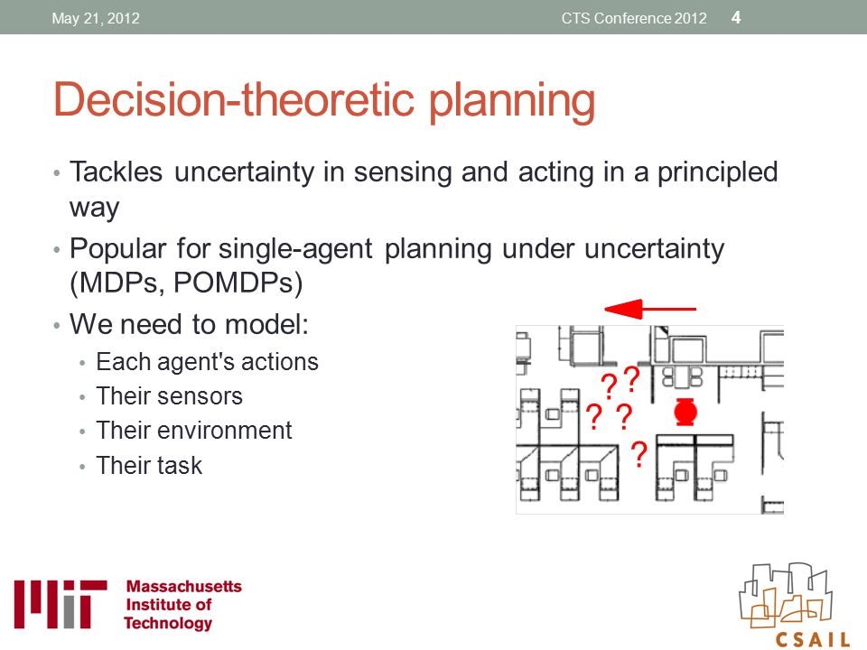 Decision-theoretic planning