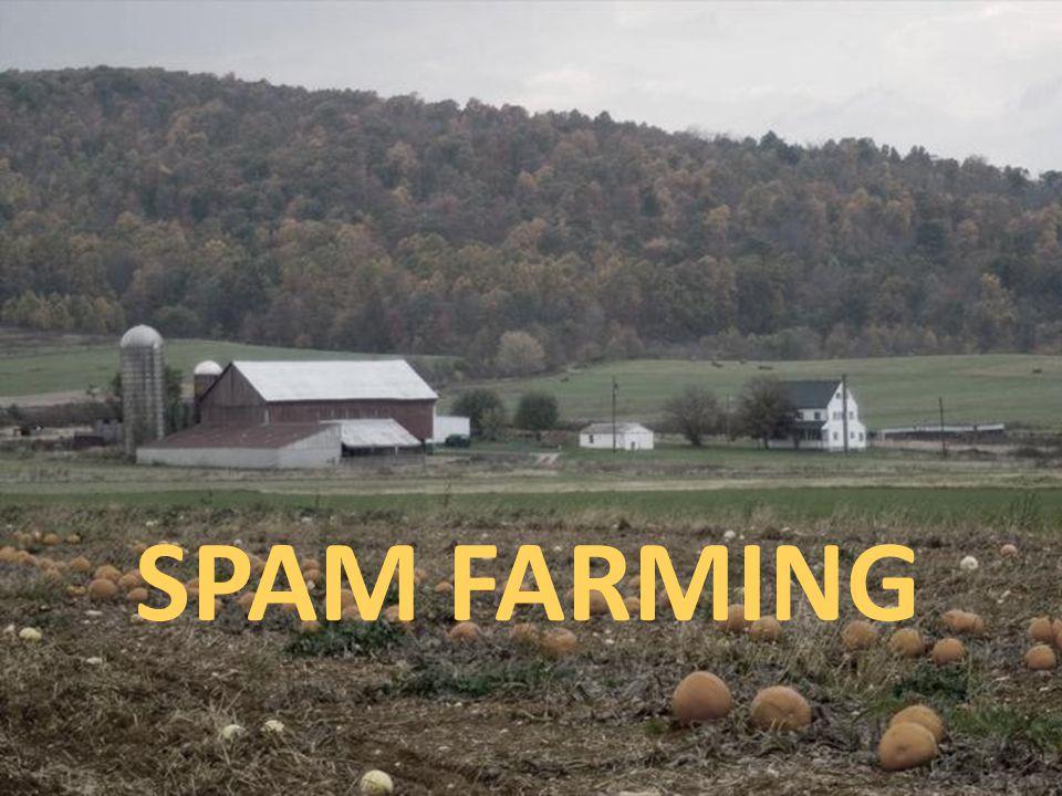 SPAM FARMING J. Leskovec, A. Rajaraman, J. Ullman: Mining of Massive Datasets, http://www.mmds.org