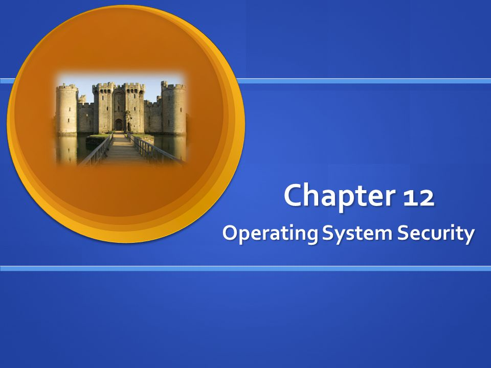 Operating System Security