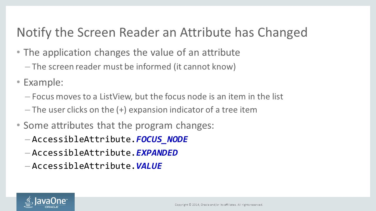 Notify the Screen Reader an Attribute has Changed