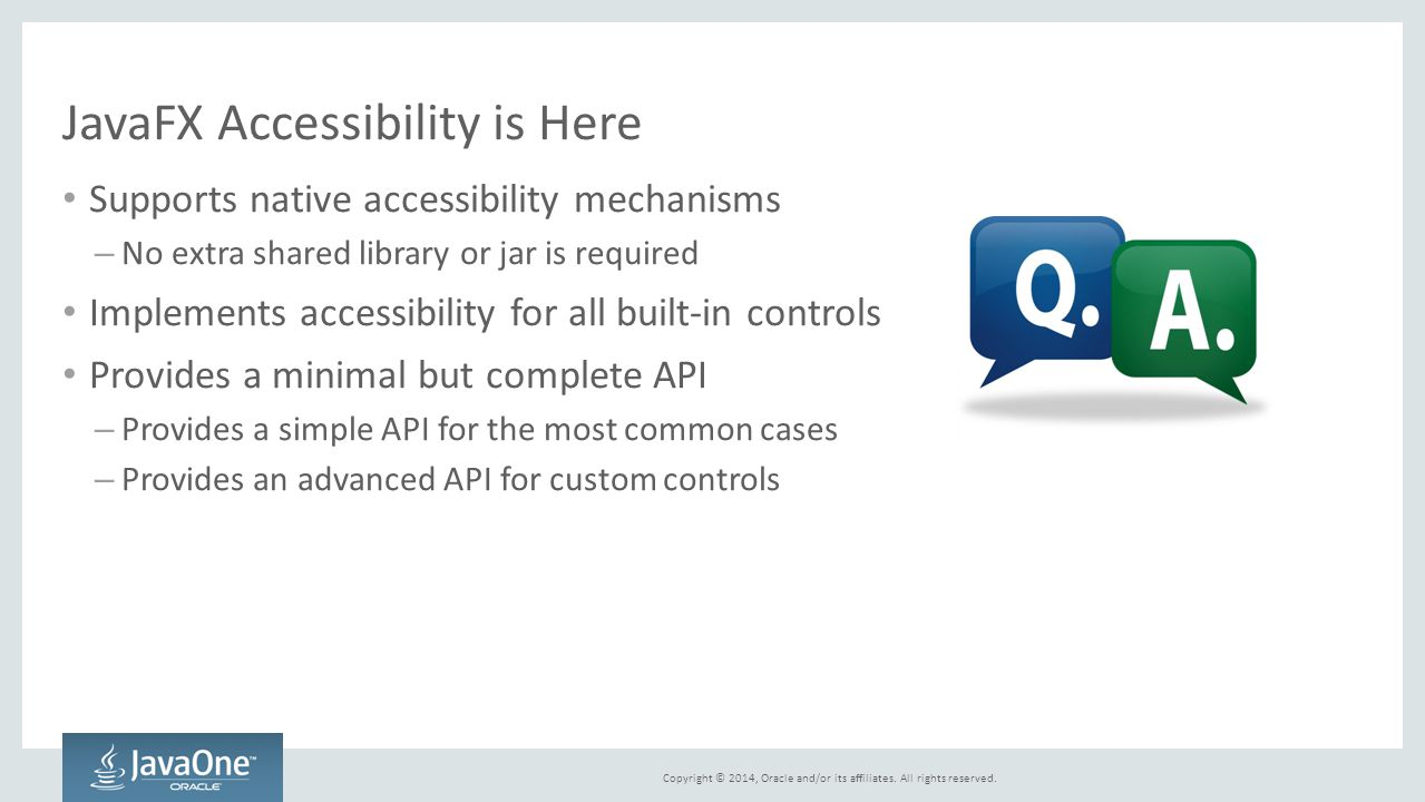 JavaFX Accessibility is Here