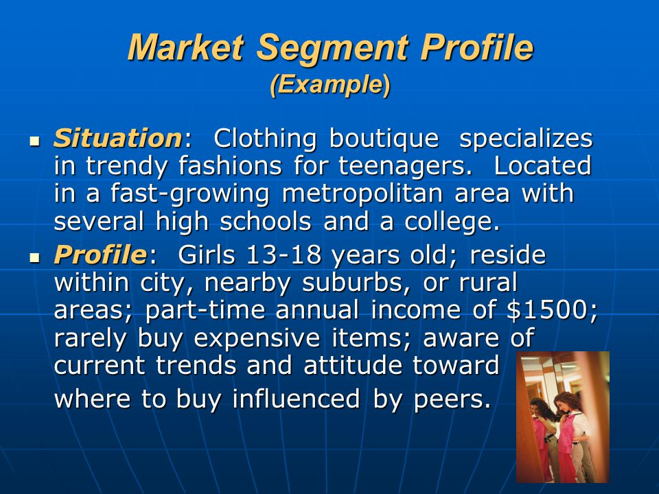 Market Segment Profile (Example)