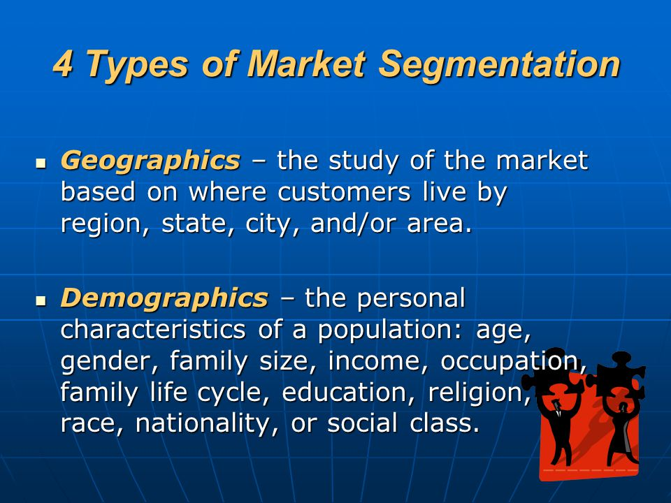 4 Types of Market Segmentation