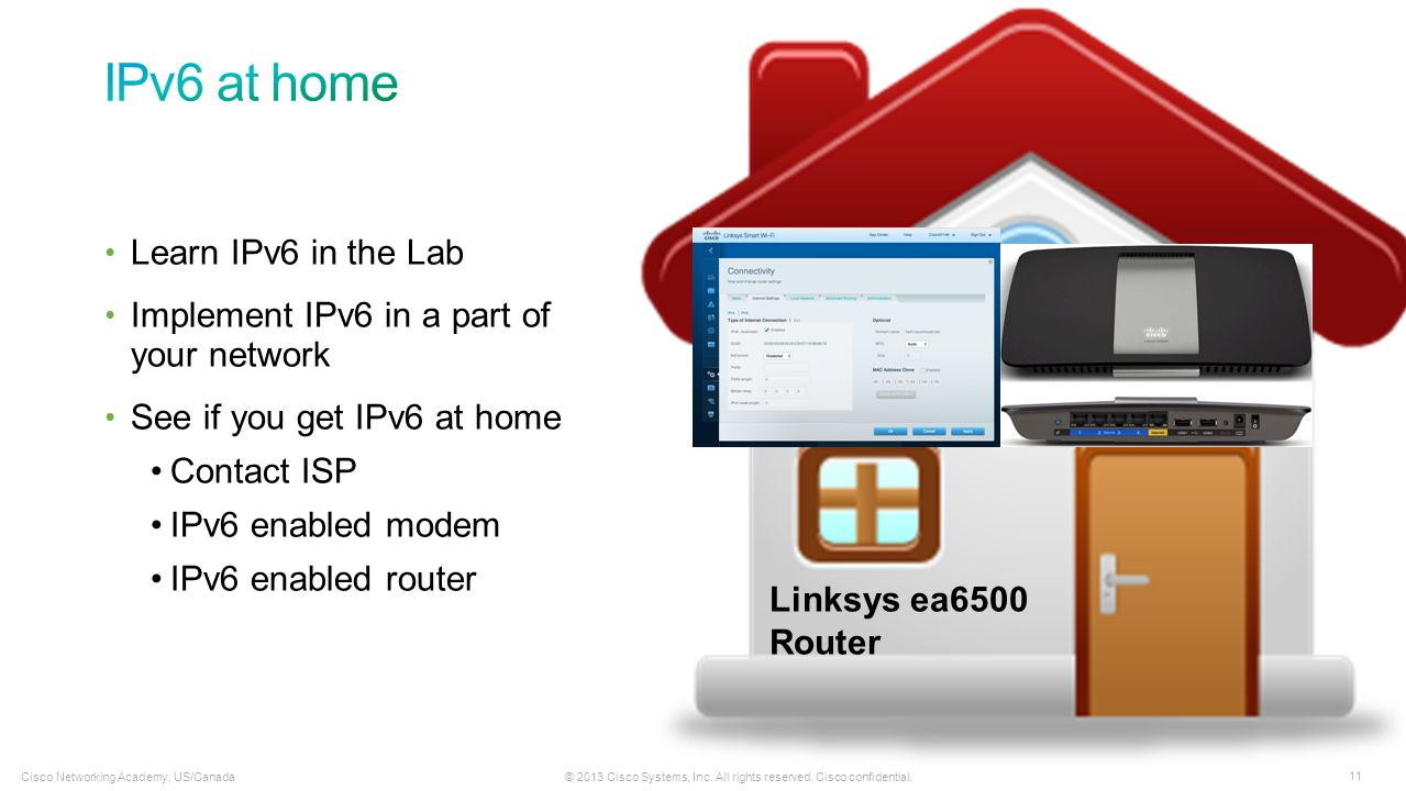 IPv6 at home Learn IPv6 in the Lab