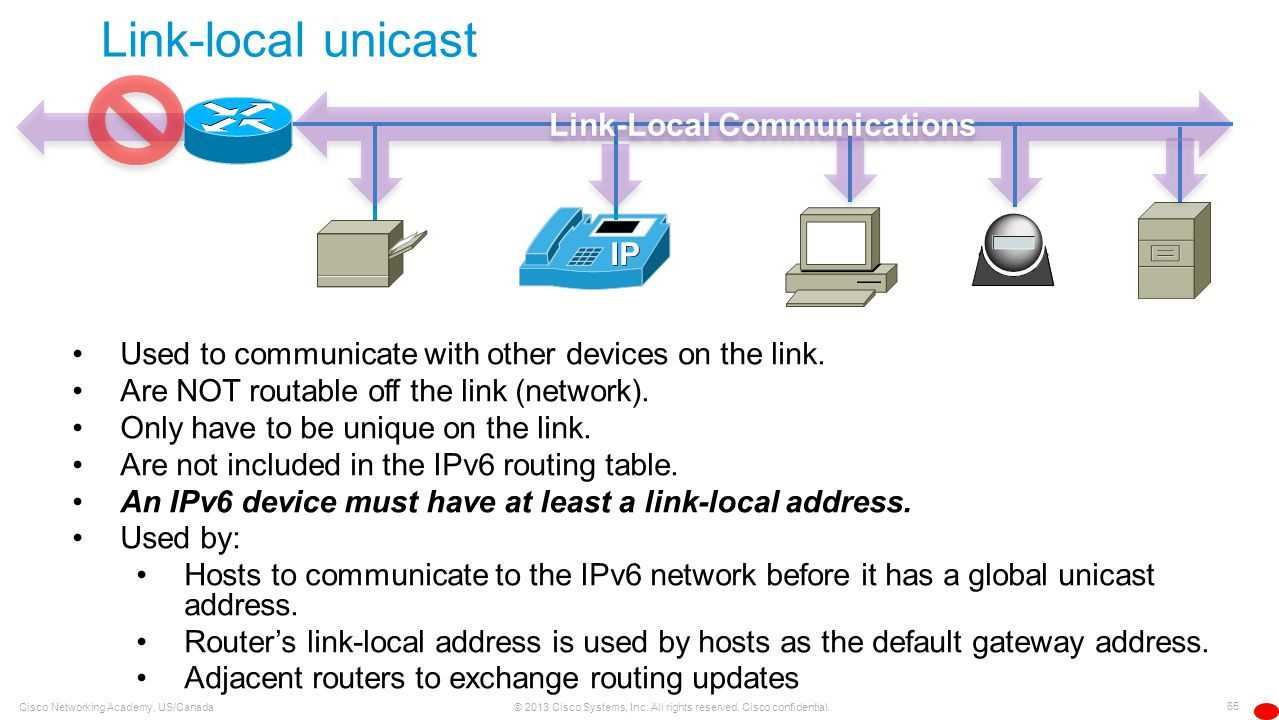Link-Local Communications