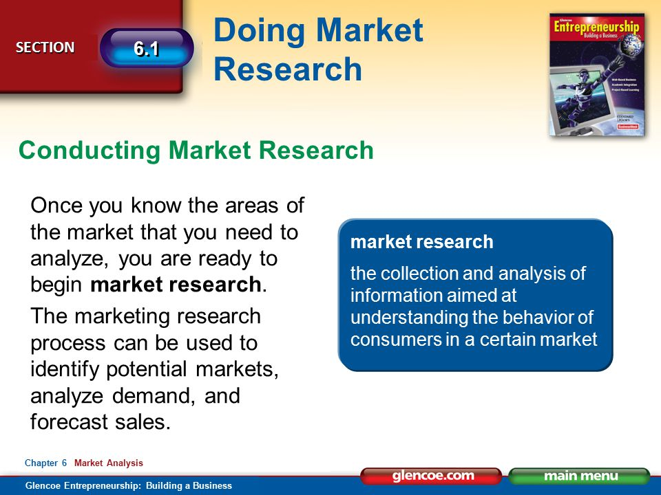 Conducting Market Research
