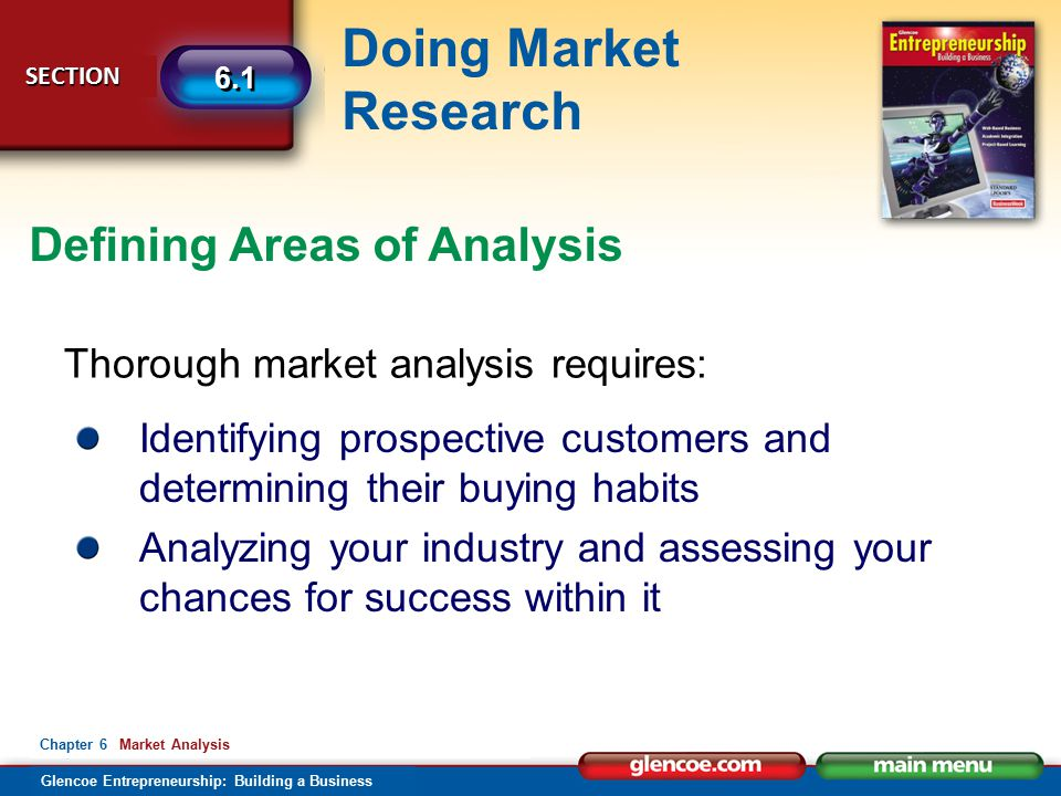 Defining Areas of Analysis