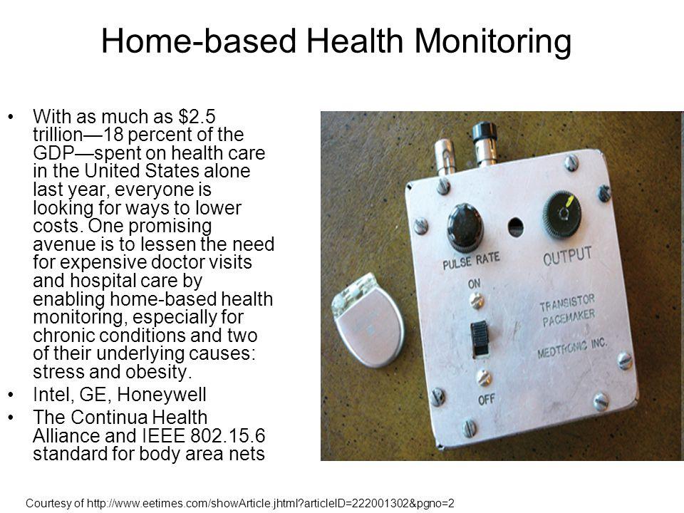 Home-based Health Monitoring